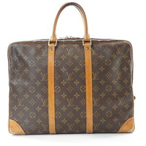 Auth Louis Vuitton Laptop Bag Porte #6382L24